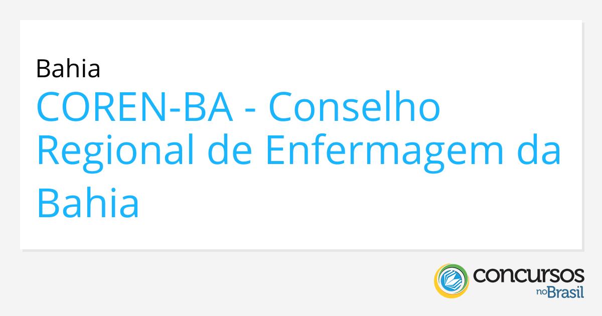 928285a072fcb Concurso COREN - BA 2014
